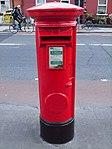 Red pillar box (1916 Celebrations 2016) Church St 2.JPG
