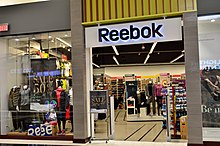 Reebok store in North America be8b749f2