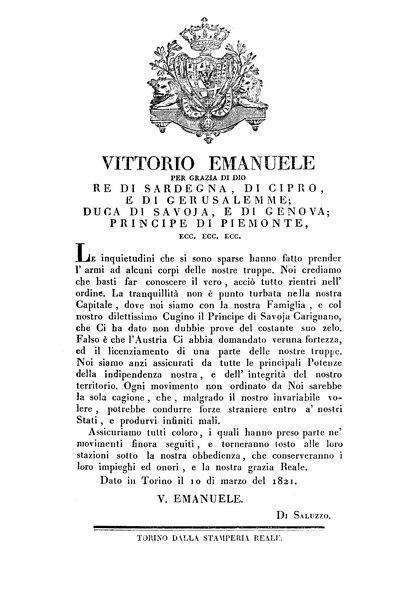 File:Regno di Sardegna - Regio Biglietto 10 marzo 1821 (Vittorio Emanuele I).djvu