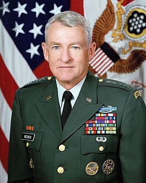 Dennis Reimer - Image: Reimer chief of staff