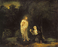 Rembrandt Christ Appearing to Mary Magdalene, 'Noli me tangere'.jpg