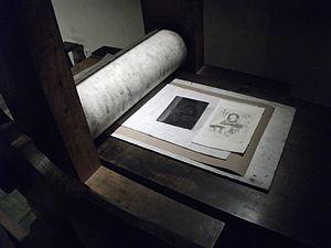 Edition (printmaking) - Rembrandt House Museum, printing studio