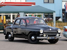 Renault Fregate R1100 (1953) , Dutch licence registration PD-11-17 pic8.JPG