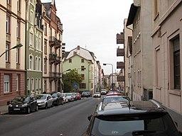 Rendeler Straße in Frankfurt am Main