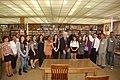 Rep. Miller visits De Anza High School (6235329594).jpg