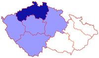 Poloha litoměřické diecéze v rámci české církevní provincie
