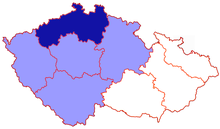 Location of the Diocese of Litoměřice