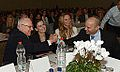 Reuven Rivlin in Jasmine conference with Ofra Strauss Naftali Bennett and Michal Ansky.jpg