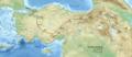 Revan seferi harita 1635 Sultan Murad IV-ar.png