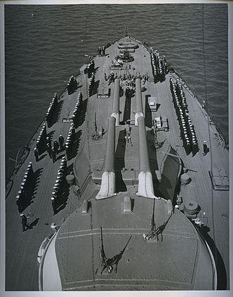 Chilean battleship Almirante Latorre - Image: Review on Chilean battleship Latorre AG208 AA 158 NN 2 1339