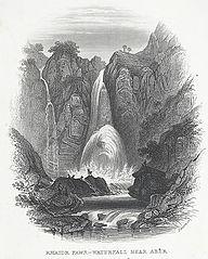 Rhaidr Fawr - Waterfall Near Aber