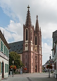Rheingauer Dom, Geisenheim, Northwest view 20140916 1.jpg
