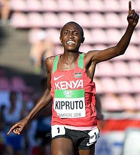 Rhonex Kipruto Kenyan long-distance runner