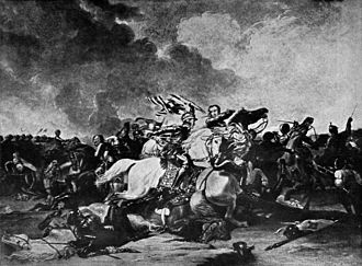 Abraham Cooper - Image: Richard III at the Battle of Bosworth by Abraham (Abram) Cooper