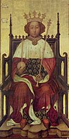 Richard II, by André Beauneveu, 1390s