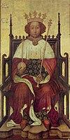 Richard II, by André Beauneveu, 1390s