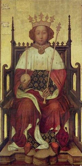 The 'Wonderful Parliament' (1386) - King Richard II of England