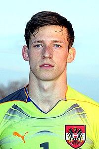 Richard Strebinger (Hertha BSC Berlin), Austria U-19 (01).jpg