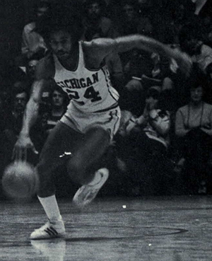 Rickey Green - Green from 1976 Michiganensian