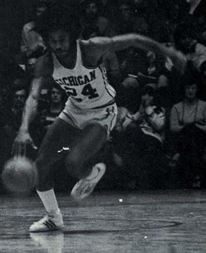Rickey Green - Green from 1976 Michiganensian