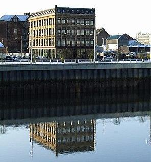 Tradeston small district in the Scottish city of Glasgow