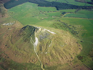 Roseberry Topping - Aerial photo of Roseberry Topping