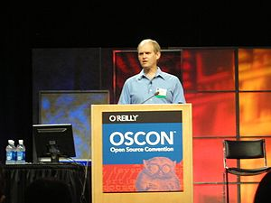 O'Reilly Open Source Convention - Robin Hanson at OSCON 2007