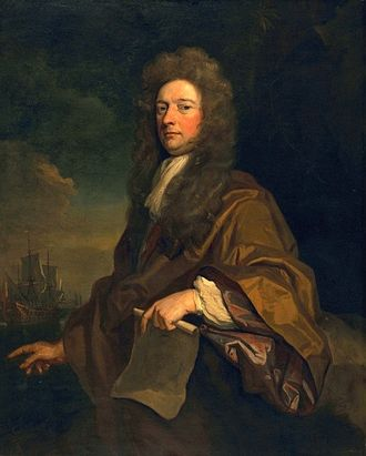 William Robinson (architect) - Portrait of Robinson by Godfrey Kneller (1693)