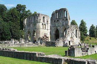 William Levett (baron) - Roche Abbey, founded by Richard FitzTurgis, ancestor of the Levett family