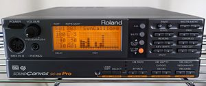 Roland Sound Canvas - Sound Canvas SC-88 Pro