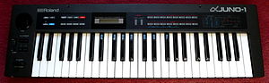 Hoover sound - The archetypal 'hoover' synth, Roland Alpha Juno