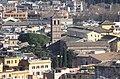 Rom, Blick vom Gianicolo-Hügel zur Kirche Santa Maria in Trastevere.JPG