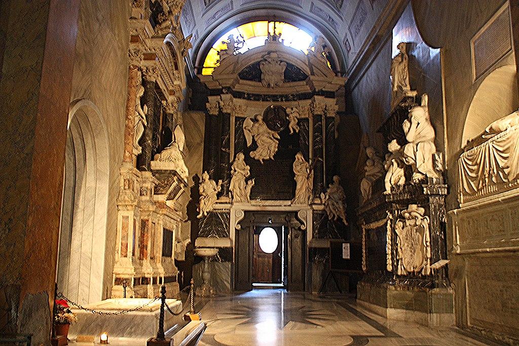 Rom, Kirche Santa Maria sopra Minerva, die Kapelle Aldobrandini.JPG