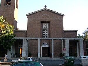 Santa Galla - Image: Roma (Q. Ostiense) S. Galla 2 Facciata