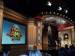 Ron James Show with James CBC 2011.JPG