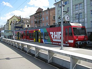 Rorschach–Heiden railway - Image: Rorschach Heiden Bergbahn