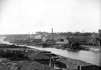 Rörstrand - Rörstrand Factory 1896