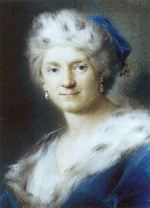 Rosalba Carriera - Self-Portrait as Winter - WGA04504