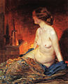 Rose by-the-fireside-1910.jpg