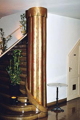 Architecture art d co en belgique wikimonde for Formation decoration interieur belgique