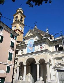 La chiesa parrocchiale di Nostra Signora Assunta a Rossiglione Inferiore
