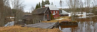 Kanepi Parish - Watermill in Roti, the village of Hurma