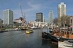 Rotterdam, de Bierhaven-de Leuvehaven vanaf de Jufferkade IMG 1815 2018-03-18 12.04.jpg