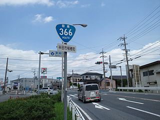 Japan National Route 366