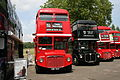 Routemasters RML2760 (SMK 760F), RML2528 (JJD 528D) & RM16 (VLT 16), Routemaster 60.jpg