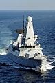 Royal Navy Type 45 Destroyer HMS Daring MOD 45153703.jpg