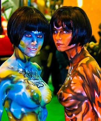 IgroMir - Models at IgroMir 2008