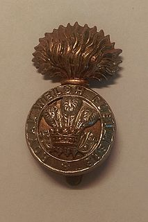 Royal Welch Fusiliers former military unit of the British Army