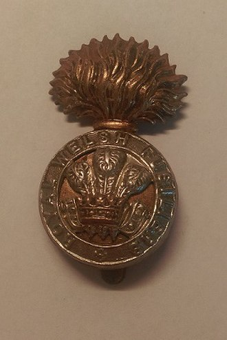 Royal Welch Fusiliers - Regimental cap badge of the Royal Welch Fusiliers