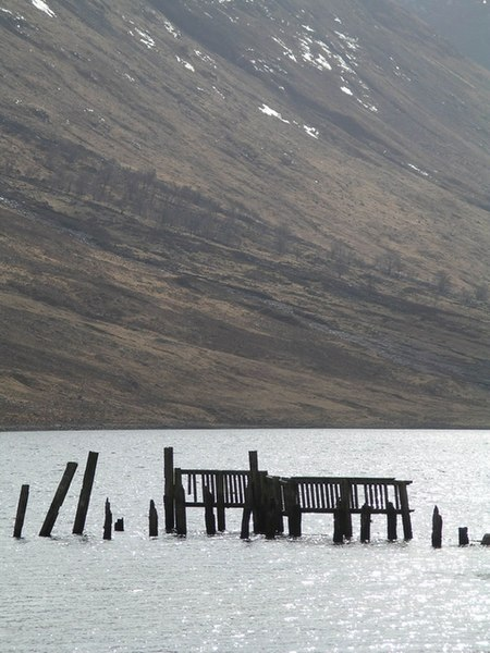 File:Ruined Jetty, Loch Etive - geograph.org.uk - 25041.jpg